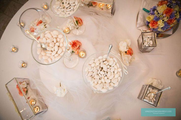 Almonds sugared by Michela & Michela www.italianweddingcompany.com