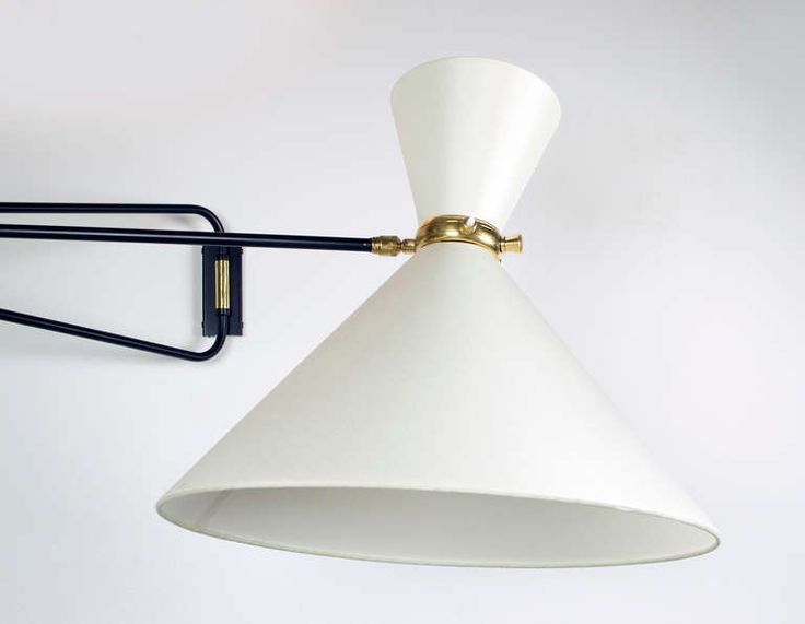 Beautiful Midcentury French Wall Sconce | From a unique collection of antique and modern wall lights and sconces at http://www.1stdibs.com/furniture/lighting/sconces-wall-lights/