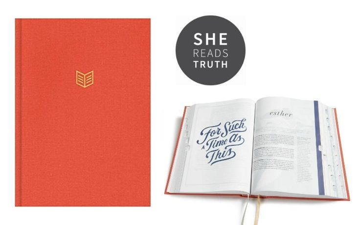 Christian Standard Bible She Reads Truth Bible by Raechel Myers & Amanda Bible Williams. Available April 15, 2017. Pre-Order now to ensure you get one. TheHolman She Reads Truth Bibleaims to live at theintersection of beauty, goodness, and Truth. Featuring devotionalsby the She Reads...