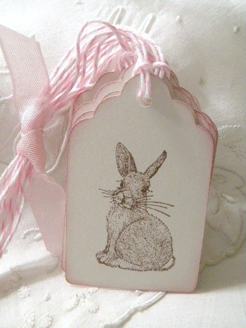 120 best tags images on pinterest wrapping gifts wraps and wrap gifts sweet bunny tags good life of design negle Gallery
