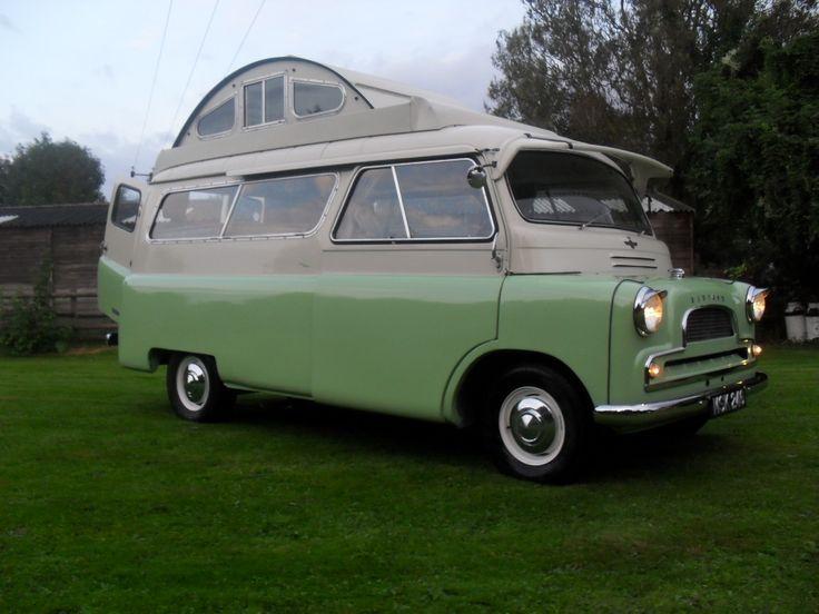 1961 Bedford Calthorpe cruiser camper van.