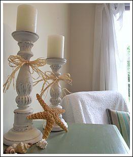 beach cottage bathroom decorating ideas | Beach decor. | Things I like.....
