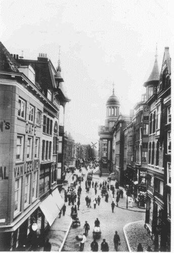 De Kaasmarkt aan de Kipstraat