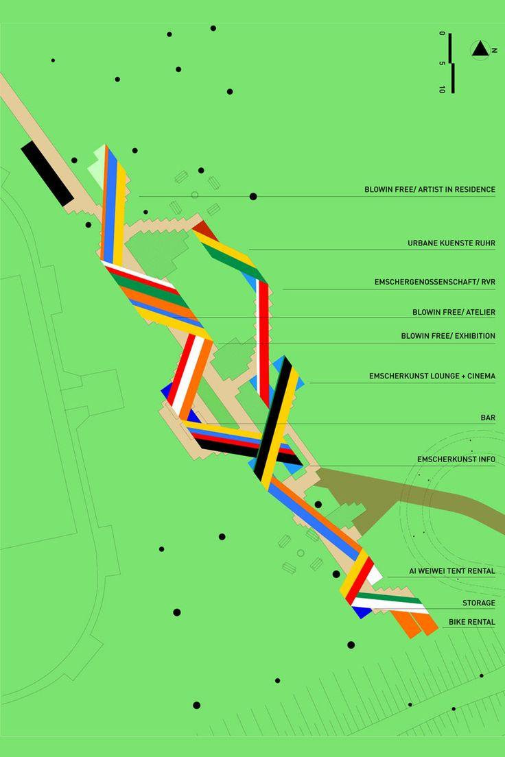 Centro de Visitantes en el pueblo Emscher / Ooze Architects