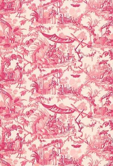 1000 Ideas About Chinoiserie Fabric On Pinterest