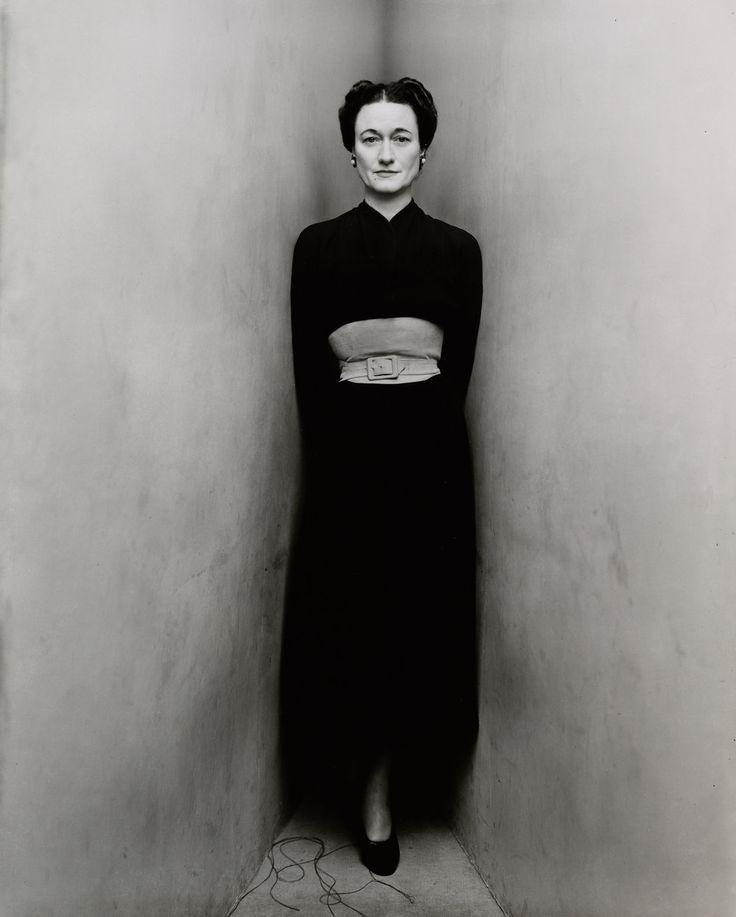 Duchess of Windsor (1 of 2) , New York, 1948 Gelatin silver print © The Irving Penn Foundation