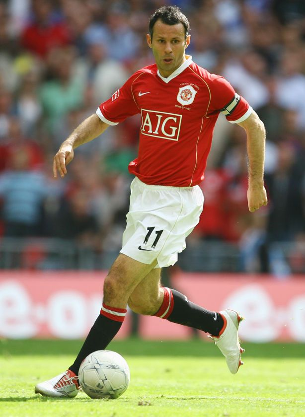 Ryan Giggs. Awarded Best Player in 20 Seasons of Premier League. And United's greatest player ever. Indeed.