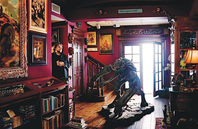Guillermo del Toro's home