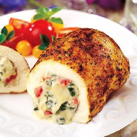 Stuffed chicken breast, one of my fav things my fiancee makes