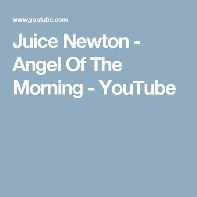 Juice Newton - Angel Of The Morning - YouTube