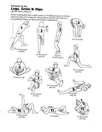 Leg stretches for cramps