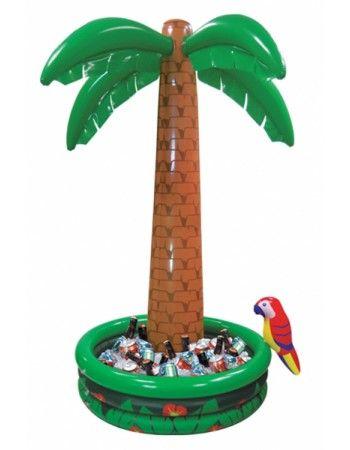 Décoration glacière palmier gonflable géant Décorations   Fiesta-Magic Thèmes adultes