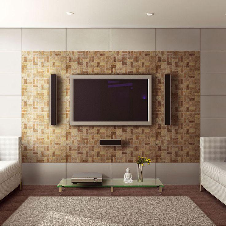 Wohnzimmer Wand Fliesen | Esszimmer wände, Wohnzimmerwand ...
