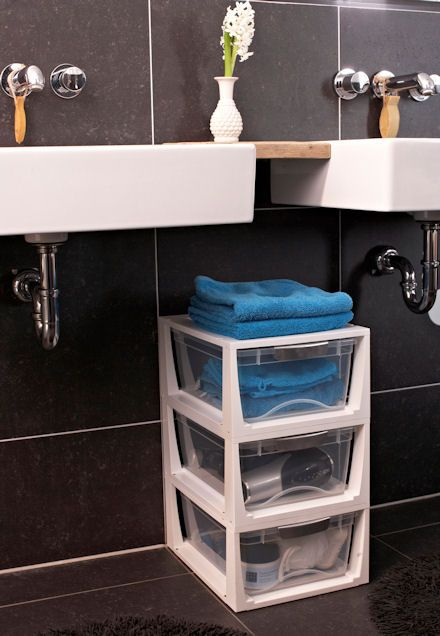 Stacking Bathroom Storage Drawers. 1000  images about Bathroom on Pinterest   Art deco bathroom  Semi