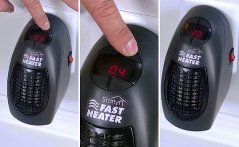 Eredeti Starlyf Fast Heater elektromos hősugárzó csak 9 990 Ft a MediaShop-tól