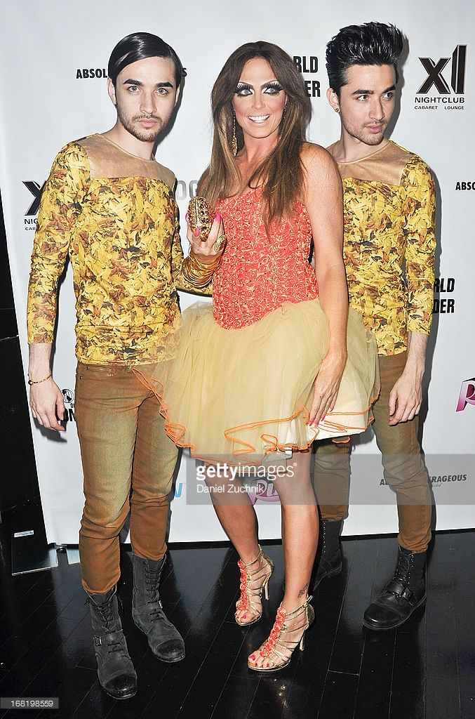NEW YORK, NY - MAY 06:  (L-R) Antonio Estrada, Alyssa Edwards and Jesus Estrada attend ' RuPaul's Drag Race' Season 5 Finale Party at XL Cabaret on May 6, 2013 in New York City. Description from gettyimages.co.uk. I searched for this on bing.com/images