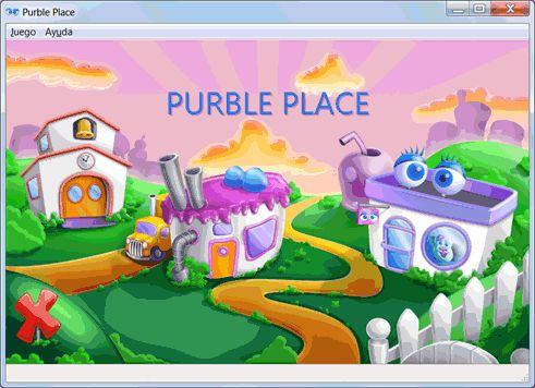 Juegos gratis de Windows 7: Purble Place (para niños)