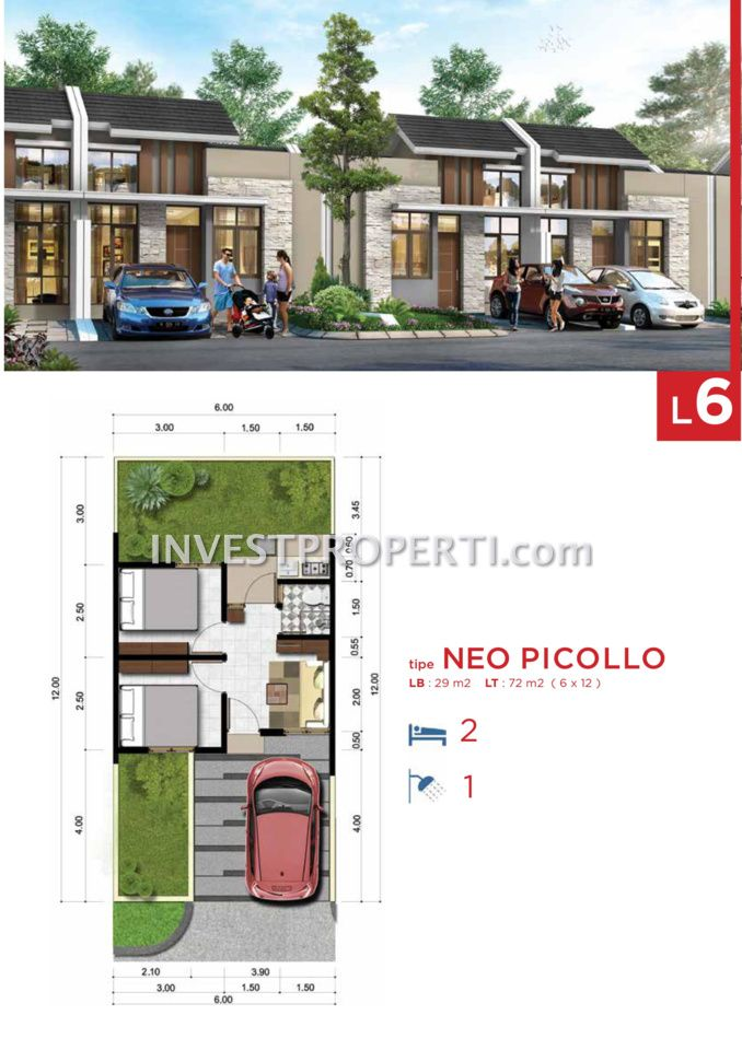 Cluster Neo Benevento @ Villaggio CitraRaya Tipe L6