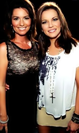 Shania & Martina McBride. the best in my eyes