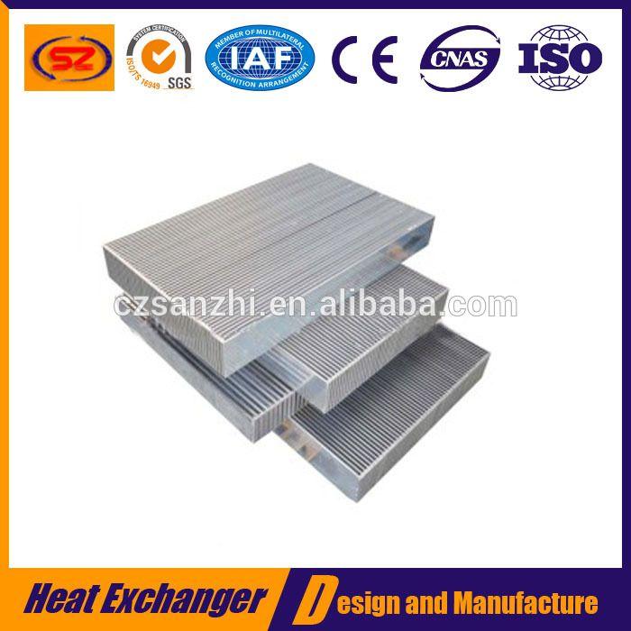 Wholesale Aluminum plate fin oil cooler radiator core