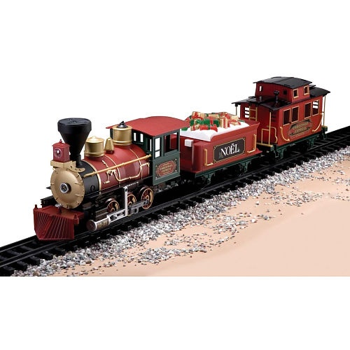 Toy Trains And Christmas : North pole express train set garden trains pinterest