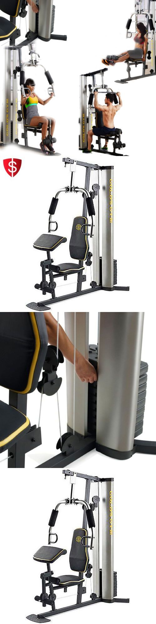 Home Gyms 158923: Gym System Strength Training Home Exercise Machine Workout Equipment -> BUY IT NOW ONLY: $325.51 on eBay!