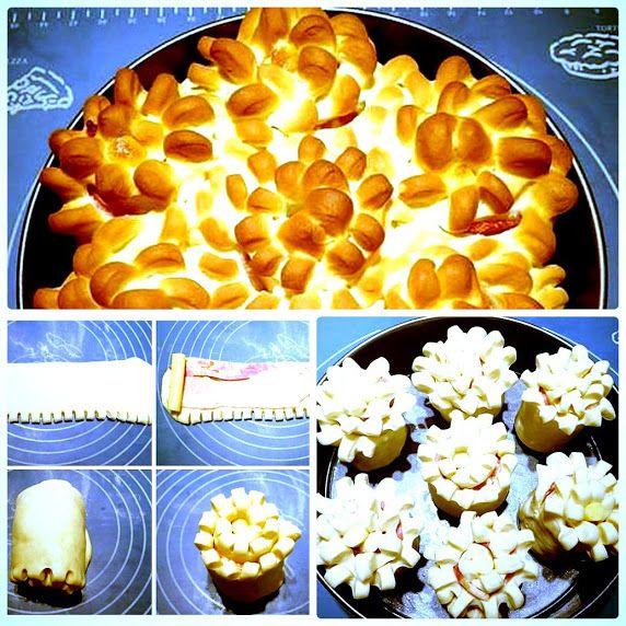 ПИРОГ С БЕКОНОМ И СЫРОМ http://pyhtaru.blogspot.com/2017/01/blog-post_26.html  Пирог «Цветы» с беконом и сыром завораживает своим ароматом домашней выпечки, очень вкусный и сытный. Тесто получается пышное и воздушное.  Ингредиенты:  - мука — 520 г - молоко — 360 мл - масло сливочное — 60 г - сахар — 30 г - соль — 10 г - дрожжи (сухие быстрорастворимые) — 8 г  Читайте еще: =================================== СЛОЕНЫЙ САЛАТ С ТУНЦОМ http://pyhtaru.blogspot.ru/2017/01/blog-post_15.html…