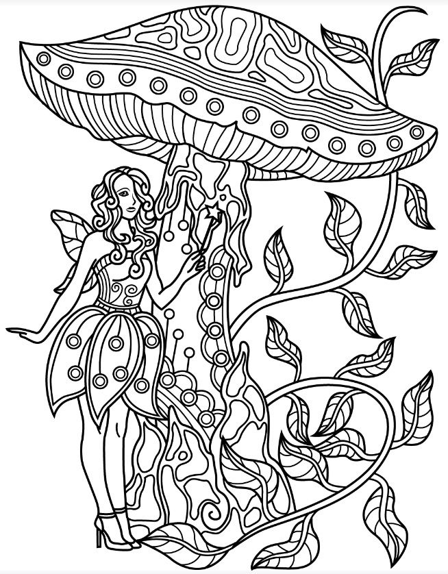 Forest Coloring Page Colorish Free Coloring App For Adults By