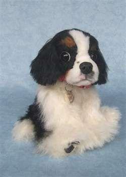 Maggie by Jacqui Wickenden: Felt Pup, Felt Dogs, Felt Things, Dogs Cats Felt, Felt Inspiration, Felt Wait What, Felt Felting Zipp, Felt Art, Felt Animal