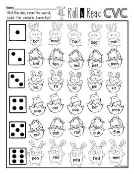 Print and Go! Easter Math and Literacy ~ Save yourself some ink and TIME. Bunnies and eggs abound on these sweet practice pages that your kiddos will love. Easter theme without reference to the holiday. Covers lots of skills and differentiated to meet your diverse student needs.
