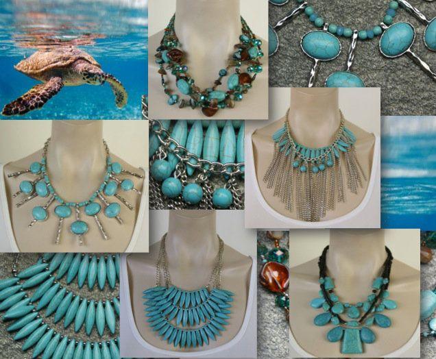 Mooie blauwe bib statement kettingen - Statementpieces.nl http://www.statementpieces.nl/c-1111310/bijoux-blauw-turquoise/  #bijoux, #halsketting, #ketting, #sieraden,