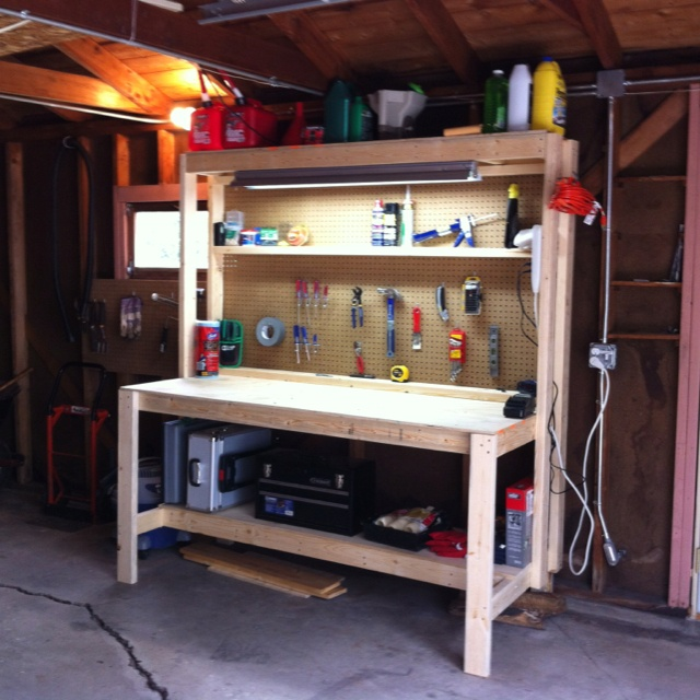 1000+ images about Garage workbench on Pinterest | Workshop bench ...