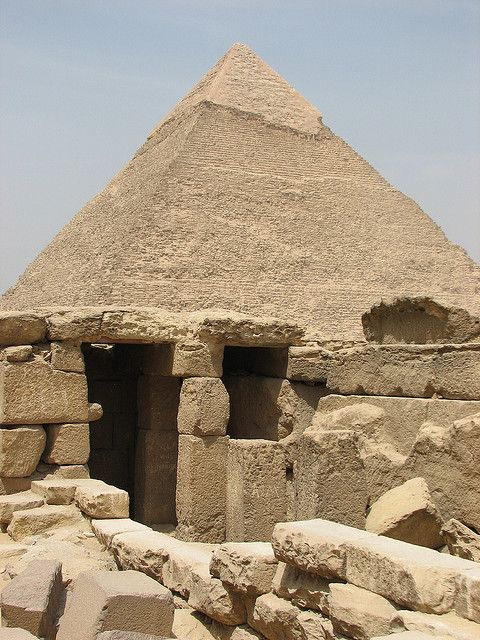 Egypt Giza Pyramid near Cairo