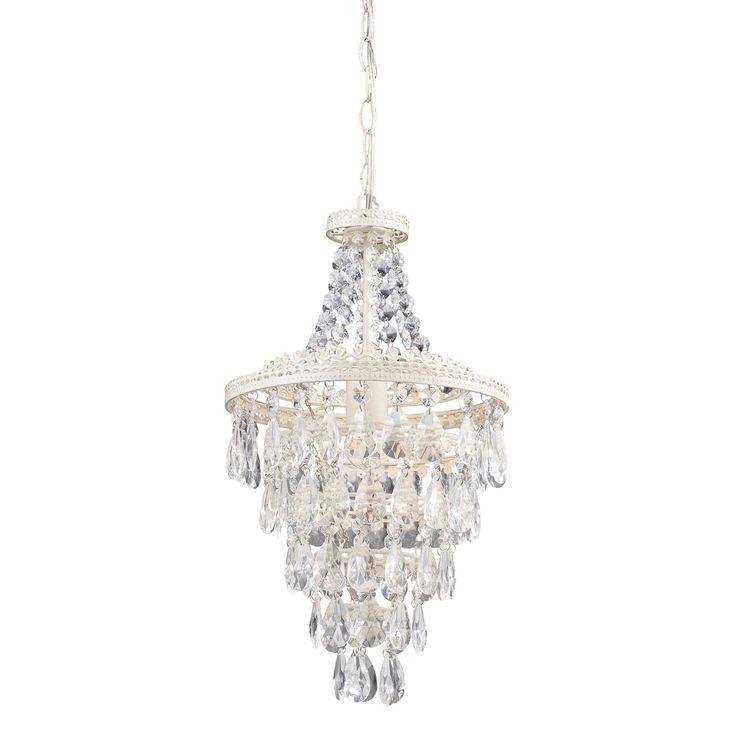 sterling industries clear crystal mini chandelier lighting bathroom