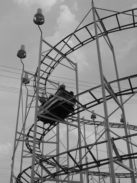 Mouse roller coaster, London,Ontario