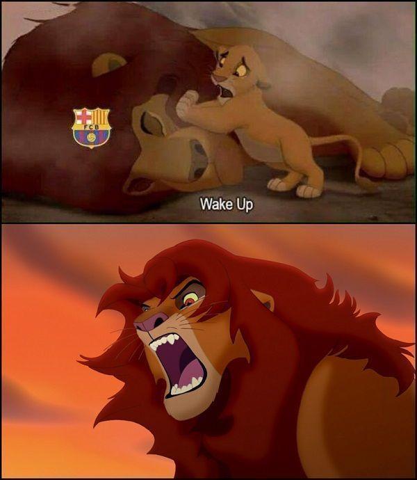 Piłkarze FC Barcelony nareszcie pokonali swoich rywali • FC Barcelona wreszcie obudziła się ze snu • Barca niczym lew • Zobacz >> #football #soccer #sports #pilkanozna