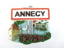 Annecy Poly Magnet Fridge Reise Souvenir Frankreich France Neu,