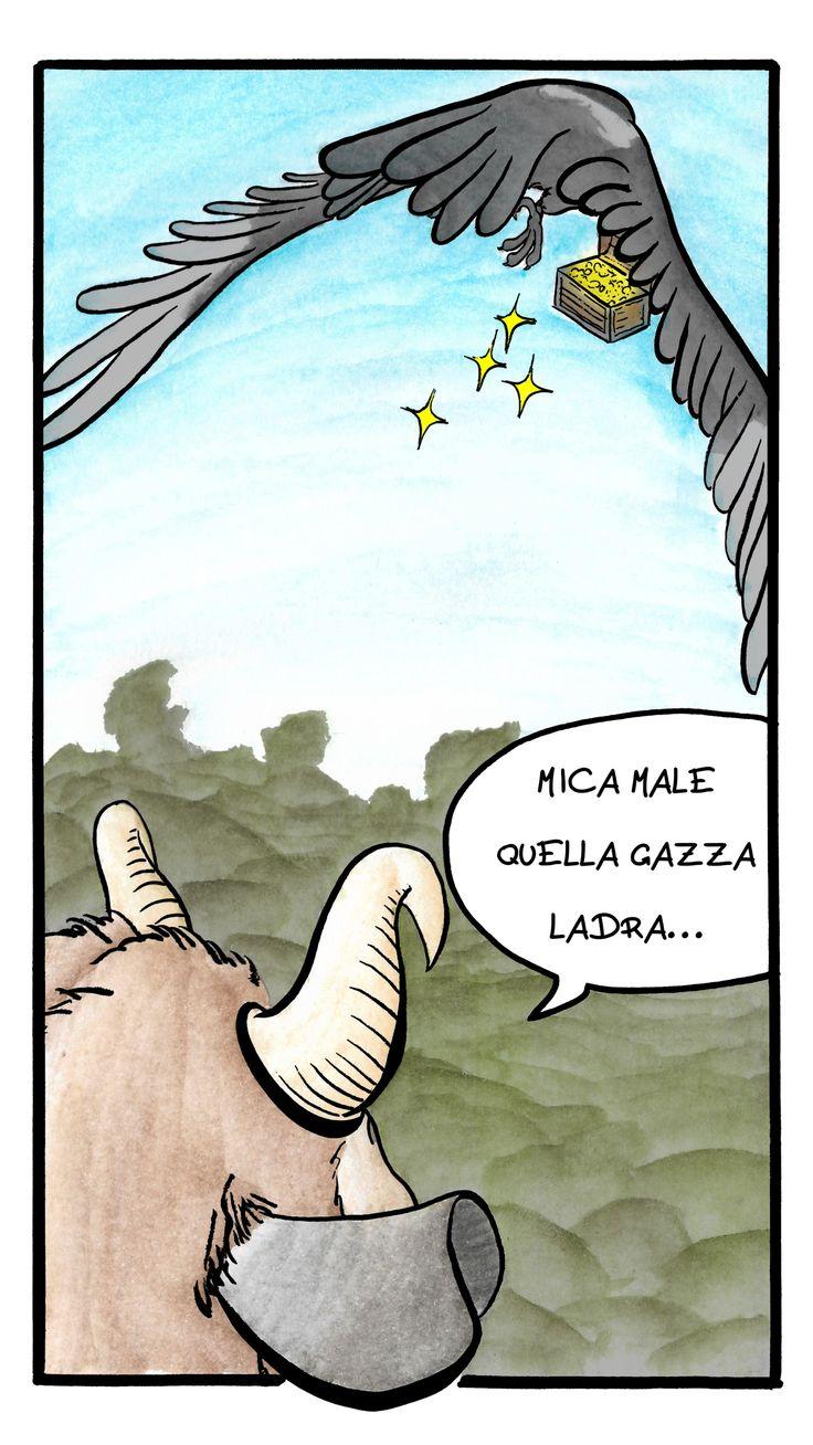 Giulio bottega, fumetto Il Satiro pagina 4