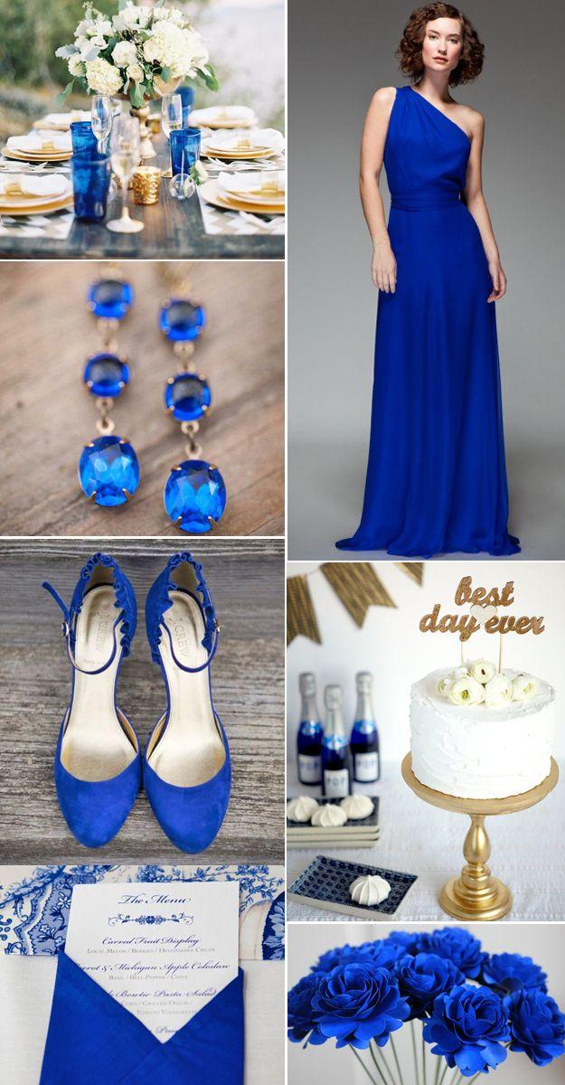 Dazzling Blue Wedding Inspiration!