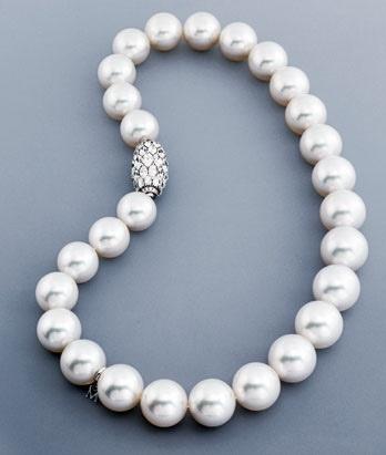 Mikimoto South Sea Pearls.