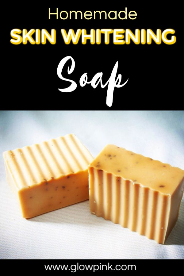 Magical homemade skin whitening soap recipe to remove dark spots, suntan, acne and pimples naturally