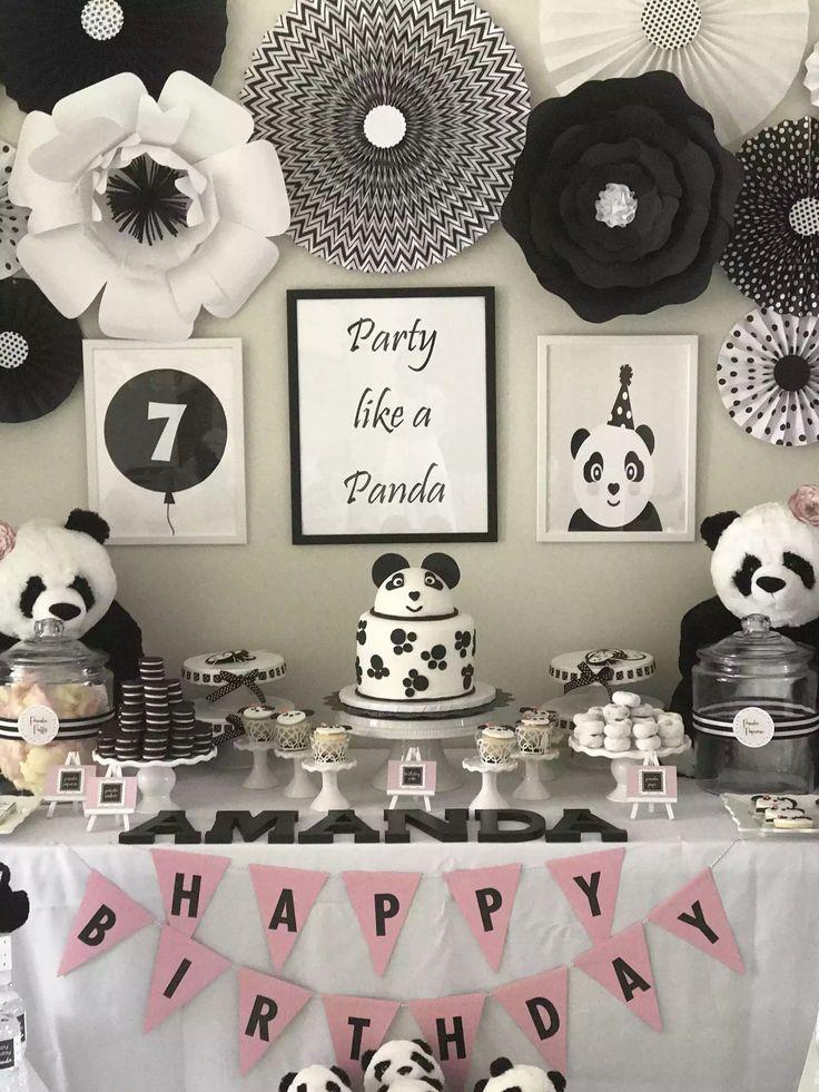 Panda Party Decorations Panda Bear In 2019 Panda