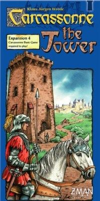 Carcassonne Board Game Expansion: The Tower Details and Review