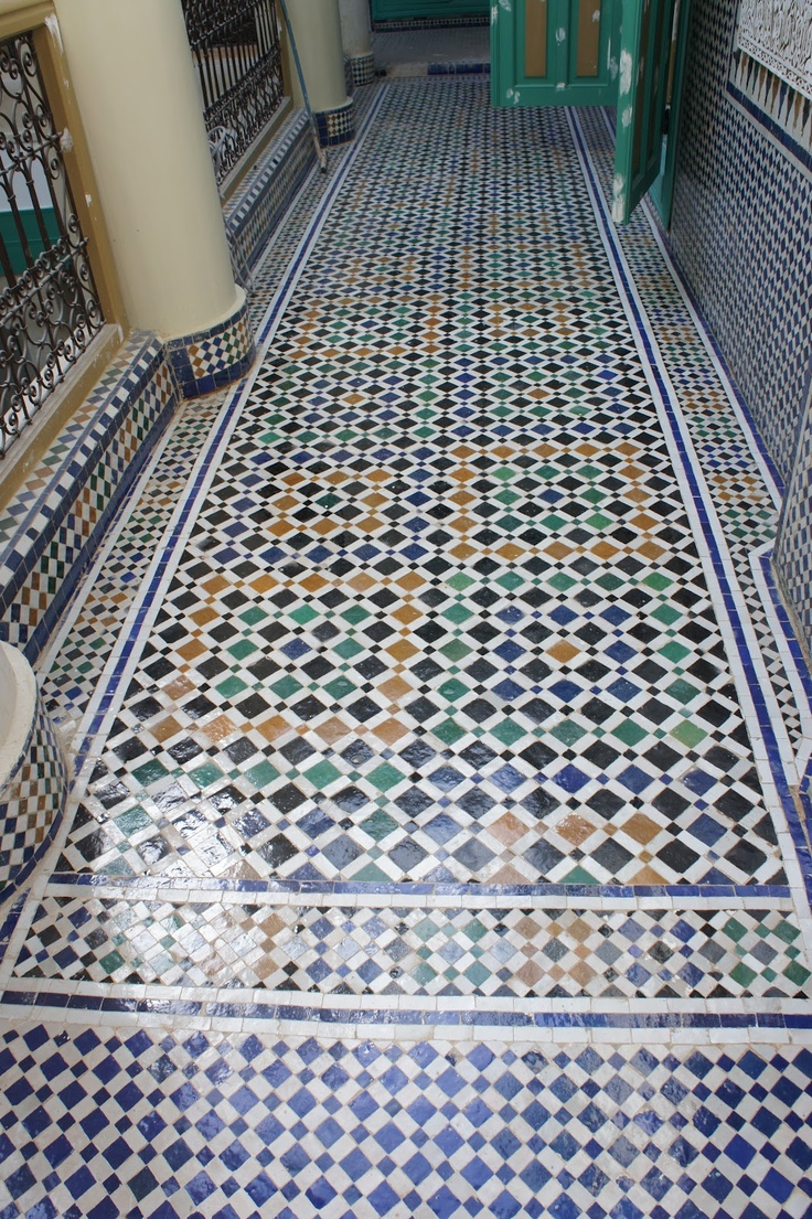 87 best moroccan patterns images on pinterest moroccan pattern gorgeous zellij floor moroccan dailygadgetfo Image collections