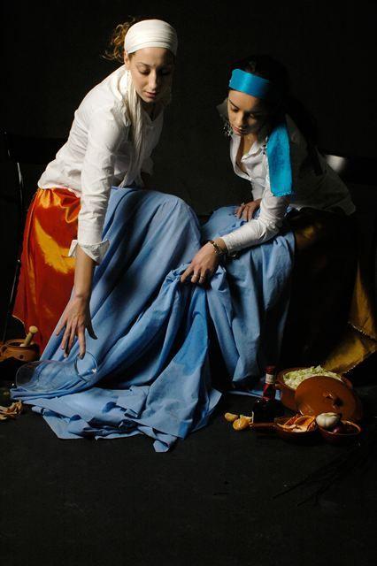 Meisjes van Vermeer door Fleur van Veghel