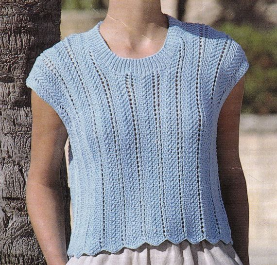 Knitting Pattern Box Jumper : 17 Best images about Knit jumpers, tops, ponchos on Pinterest Cable, Wool a...