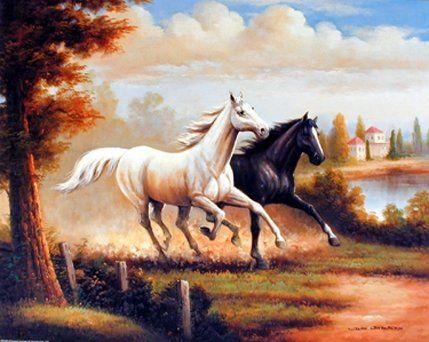 Your love for animals can now be seen on the walls of your home with this wonderful wild stallion horse wall decor. This horse poster captures the image of two horses running in all their glory which is sure to bring a unique charm into your room. It would be a perfect addition for your living room, bedroom or even for your entry way space. This horse wall poster will also make a great gift for every horse lovers.