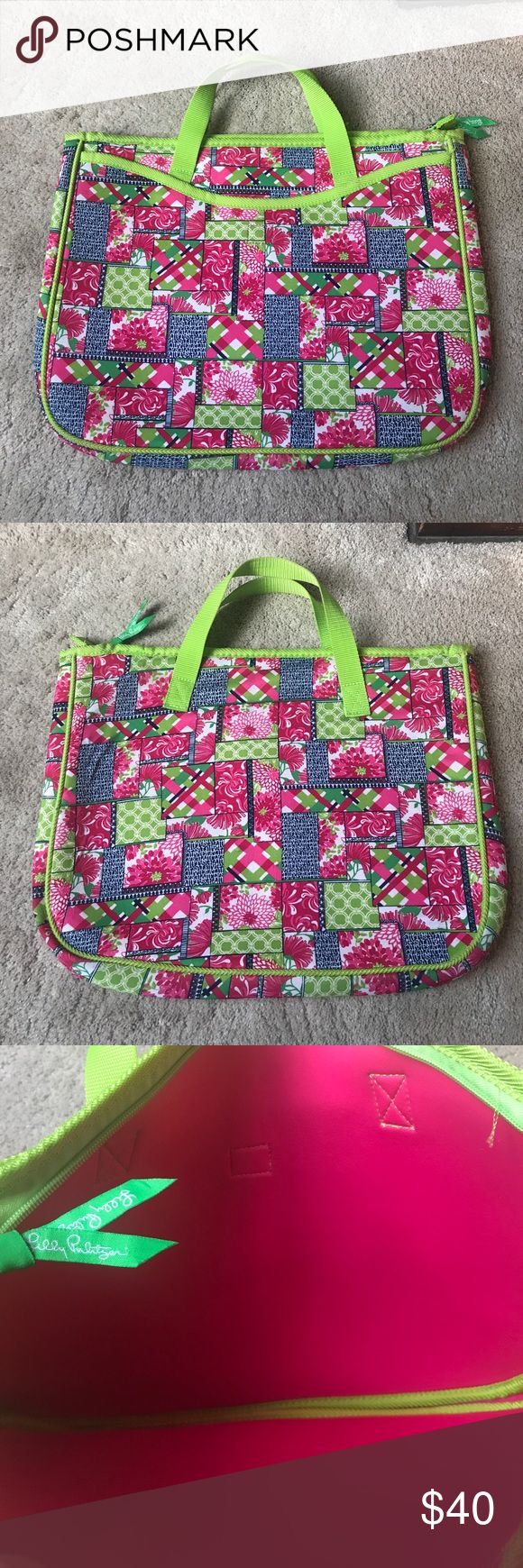 Lilly Pulitzer laptop case! Multi colored Lilly pulitzer laptop case! Excellent condition! Lilly Pulitzer Bags Laptop Bags