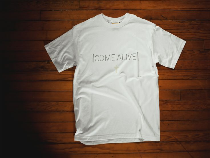Home - comealiveco COME.ALIVE is here! C.A is all about bettering the people around you. Laying down pieces of your life daily to help build another! This shirt is only $10 and is a great reminder to COME.ALIVE. The cross design is one of the top sellers so get it while supplies last!