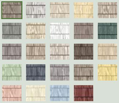 18 best vinyl siding images on pinterest for Popular vinyl siding colors